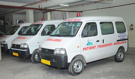 Alshifa Hospital Ambulance